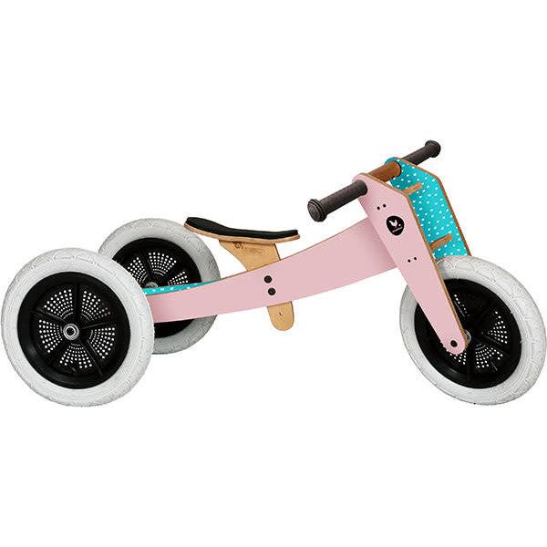 Wonderbaar Wishbone Bike driewieler 3-in-1 houten loopfiets Original - roze NG-92
