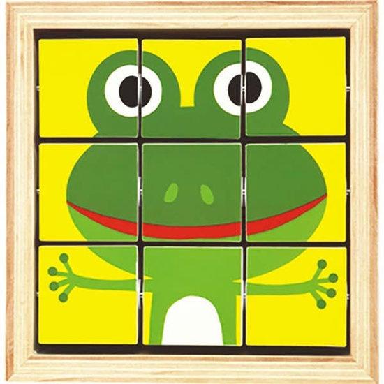 Djeco Würfelpuzzle - Tournanimo - Djeco +2 Jahren