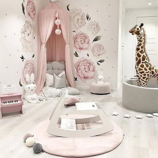 Little Thingz Bällebad - rund grau - inkl 200 bälle grau-rosa-weiss-silber-Perle