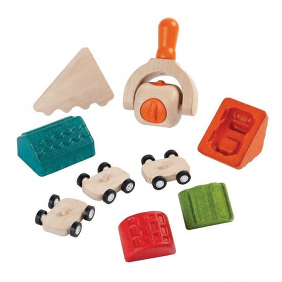 Plan Toys Modeling clay material - Build a city Dough set - Plan Toys +3 yrs