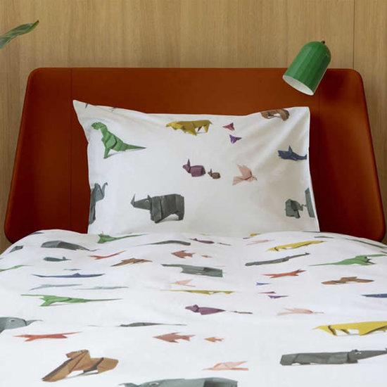 Snurk beddengoed Bettwäsche Paper Zoo - Snurk