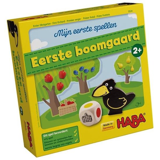 Haba Dice game - My First Orchard - Haba +2 years