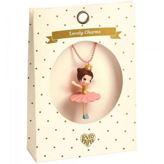 Djeco Halsketting - ballerina - Lovely Charms - Djeco