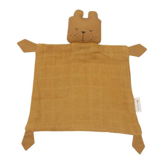 Fabelab Knuffeldoekje - Animal Bear Ochre - Fabelab
