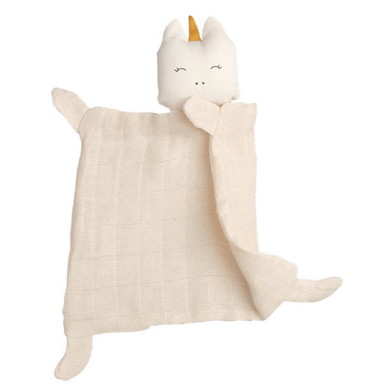 Fabelab Knuffeldoekje - Animal Cuddle Unicorn - Fabelab