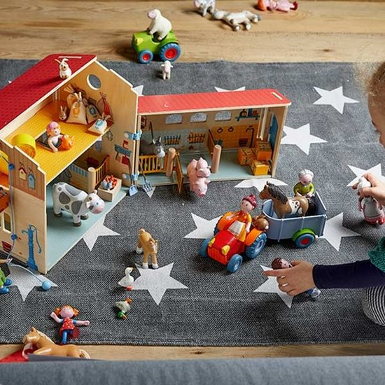 Haba Little Friends Puppenhaus Puppe Gans - Haba