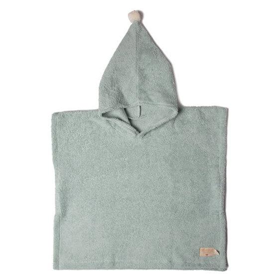 Nobodinoz tipi en accessoires Poncho - So Cute - Green - Nobodinoz - 3-5jr