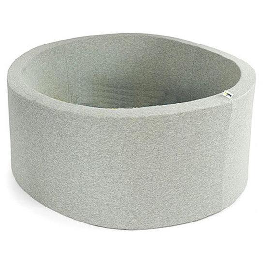 Little Thingz Bällebad - rund grau - inkl 200 bälle grau-beige-weiss-Perle