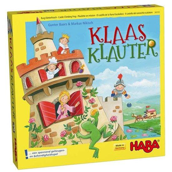 Haba Geschicklichkeitsspiel - Burg Kletterfrosch - Haba +5 Jahren