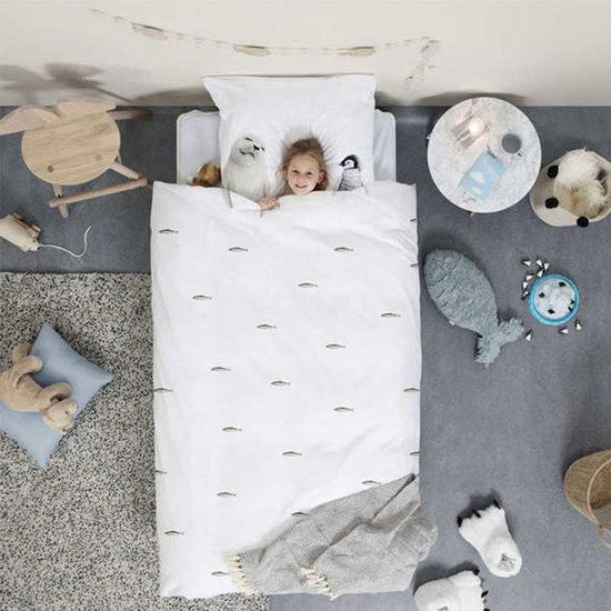 Snurk beddengoed Dekbedovertrek Artic Friends - flanel - Snurk