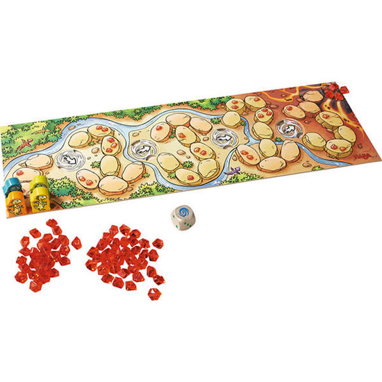 Haba Party game - Dragon Rapid Fire - The fire crystals - Haba +3 years