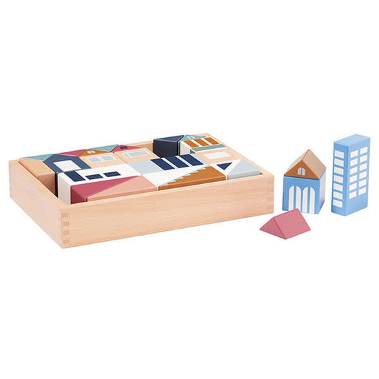 Kid's Concept Building blocks - City Aiden - Kids Concept +12M