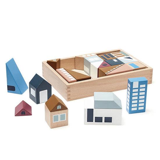 Kid's Concept Houten blokken - City Aiden - Kids Concept +12M