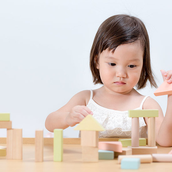 Plan Toys Houten blokken pastel 40 st - Plan Toys +18M