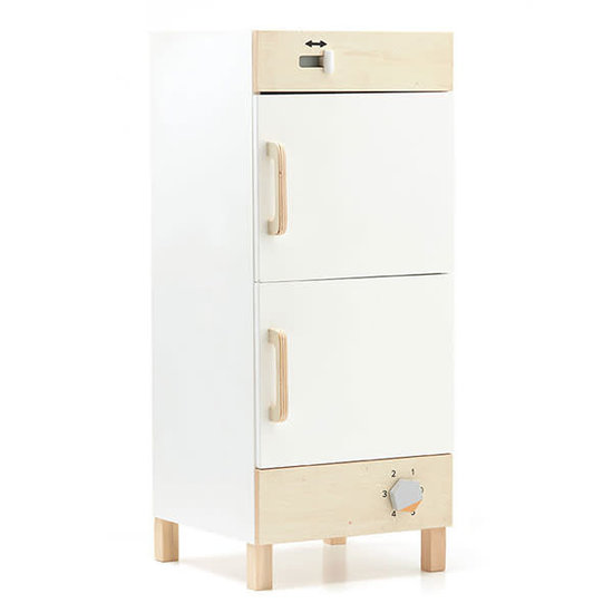 Kid's Concept Wooden fridge and freezer - Kids Concept +3 years