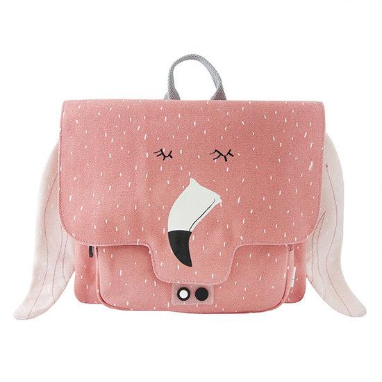Trixie Baby Kleuterboekentas - Mrs. Flamingo - Trixie