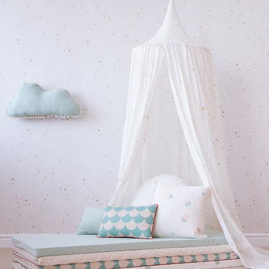 Nobodinoz tipi en accessoires Kissen - Marshmallow Cloud - Aqua mint - Nobodinoz
