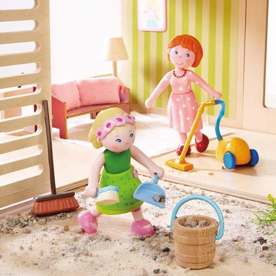 Haba Dollhouse accessories - spring cleaning - Little Friends - Haba