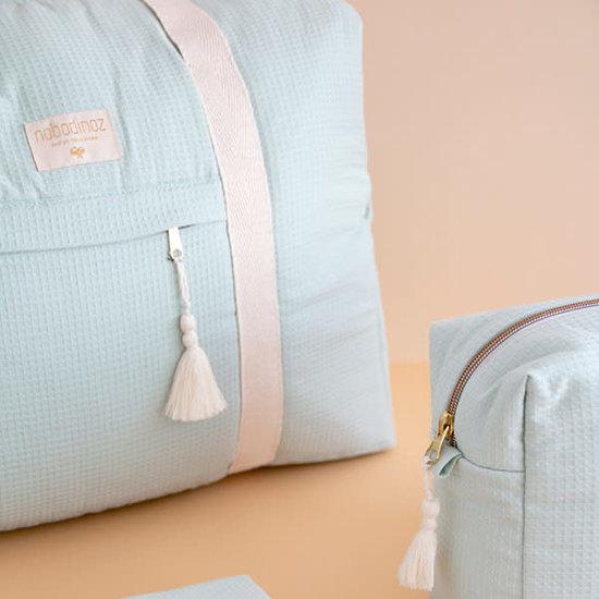 Nobodinoz tipi en accessoires Luiertas - Opera waterproof - Aqua mint - Nobodinoz