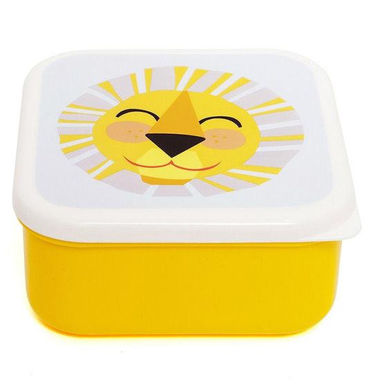 Petit Monkey Brotdose - Lunchbox - Shiny Lion - Petit Monkey