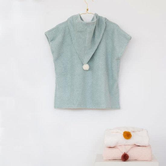 Nobodinoz tipi en accessoires Badeponcho - So Cute - Green - Nobodinoz - 3-5 Jahren
