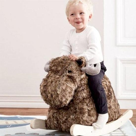 Kid's Concept Schommelpaard rendier - Rocking Bo the moose Edvin - Kids Concept +1jr