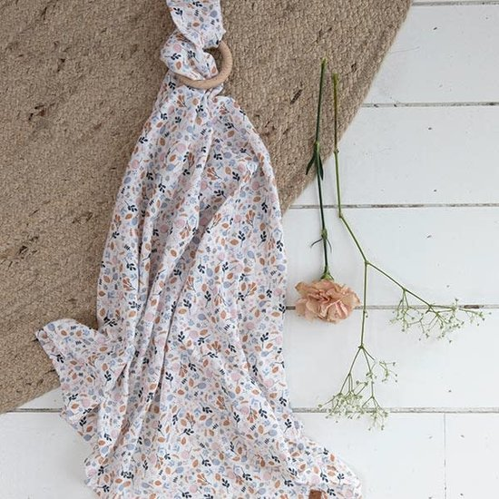 Little Dutch Little Dutch muslin swaddle Spring Flowers - 70 x 70 (2pcs)