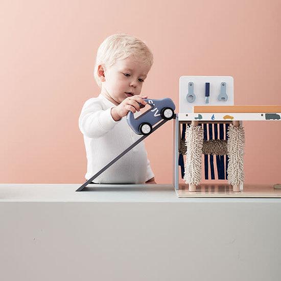 Kid's Concept Tankstation - car wash - Service Center Aiden - Kids Concept +3jr