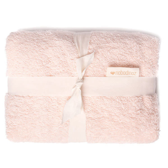 Nobodinoz tipi en accessoires Changing pad cover - So Cute - Pink - Nobodinoz