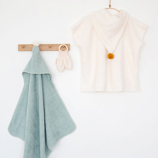 Nobodinoz tipi en accessoires Poncho - So Cute - Natural - Nobodinoz - 3-5jr