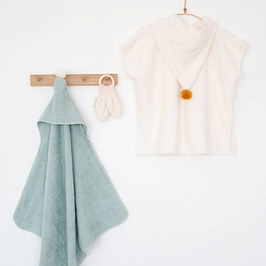 Nobodinoz tipi en accessoires Poncho towel - So Cute - Natural - Nobodinoz - 3-5 yrs