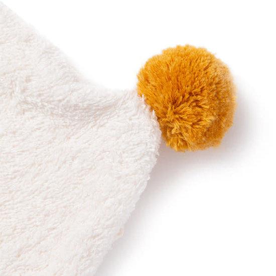 Nobodinoz tipi en accessoires Badcape - So Cute - 73x73cm - natural - Nobodinoz