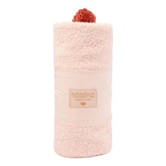 Nobodinoz tipi en accessoires Badcape - So Cute - 73x73cm - Pink - Nobodinoz