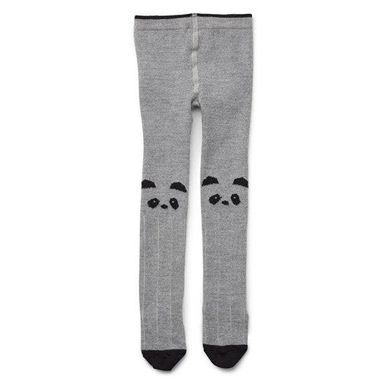 Liewood Strumpfhose Silje - Panda grey and melange - Liewood
