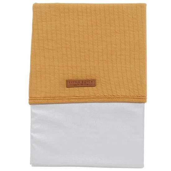Little Dutch Cot sheet Little Dutch - Pure ochre