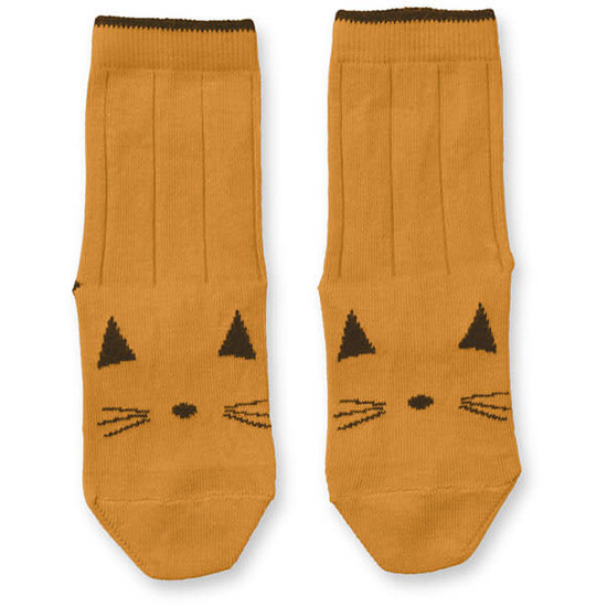 Liewood Socken - Katze - Senf - Liewood