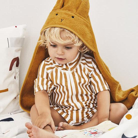 Liewood Swimsuit jumpsuit Max - Stripe Mustard - Liewood