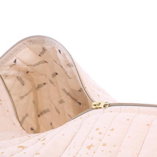 Nobodinoz tipi en accessoires Nobodinoz NY - Reisetasche - Elements - Gold Stella-Dream Pink