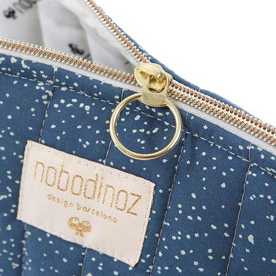 Nobodinoz tipi en accessoires Nobodinoz - Kosmetiktasche - Holiday Large - Gold Bubble - Night Blue