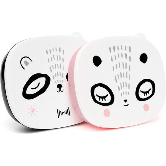 Petit Monkey Brooddoos - lunchbox - Mr Panda - Suzy Ultman - zwart - Petit Monkey