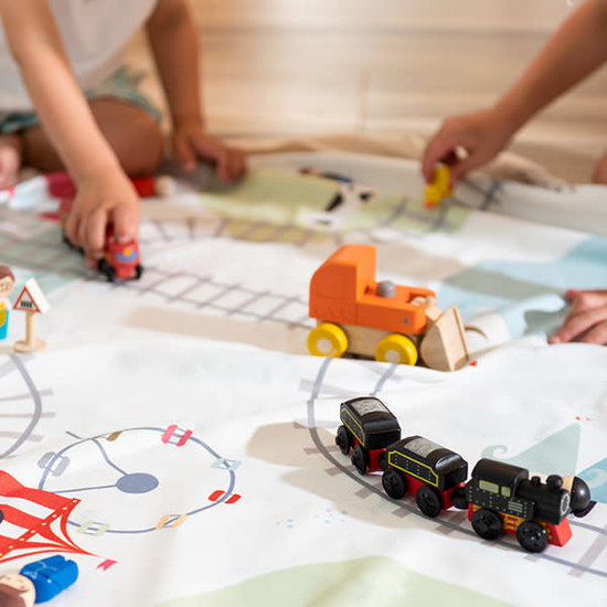 Play and Go Spieldecke - Aufräumsack - Zug - Play and Go