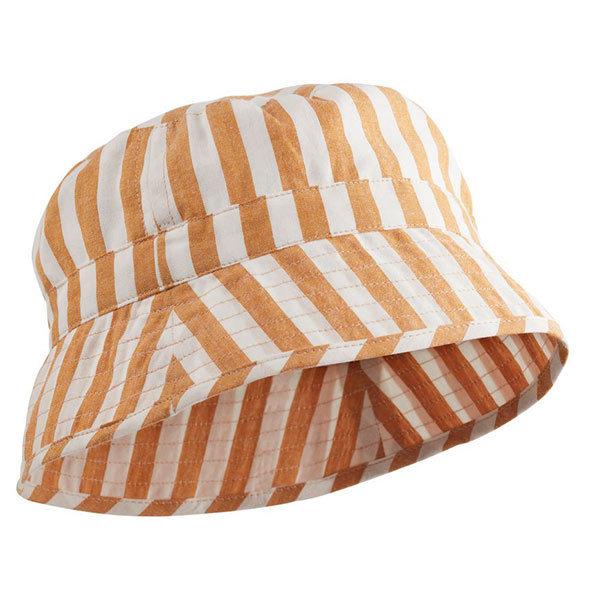 70c339f74d88c Chapeau bébé Jack - Stripe Mustard - Liewood | Little Thingz