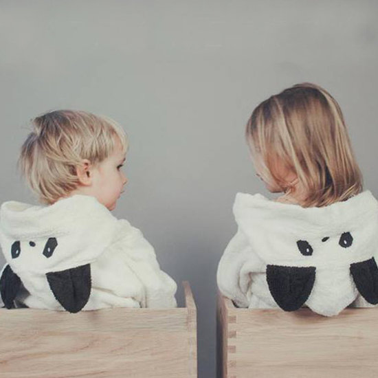 Liewood Bademantel Kinder - Lela Cape - panda creme de la creme - Liewood