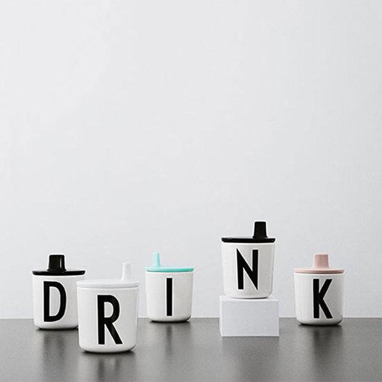 Design Letters Design Letters - drinktuit voor melamine beker - wit