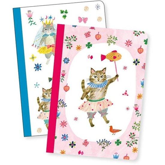 Djeco Djeco - notitieboekjes - 2 notebooks Aiko
