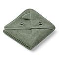 Baby towel-Albert-Dino faune green-70 cm-Liewood