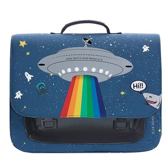 Jeune Premier boekentas School bag it bag Midi Space rainbow - Jeune Premier