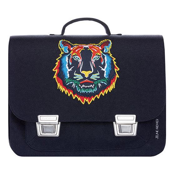 Jeune Premier boekentas School bag Classic midi Tiger navy - Jeune Premier