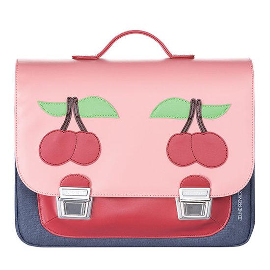 Jeune Premier boekentas School bag Signature midi Cherry pink - Jeune Premier
