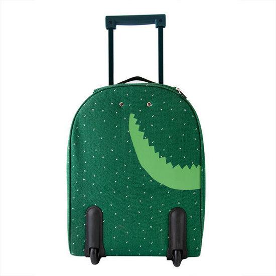 Trixie Baby Koffer - trolley - Herr Krokodil - Trixie